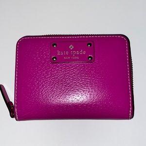 Kate Spade New York women's pink wallet